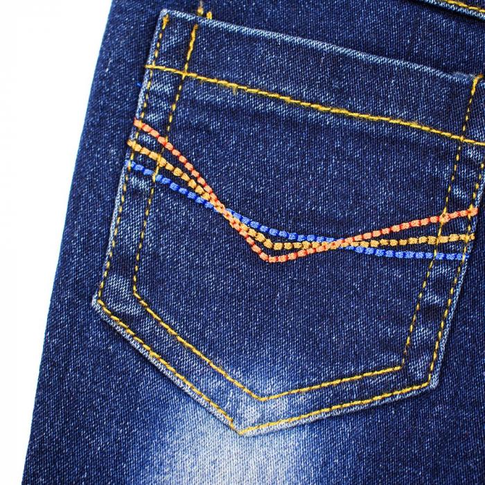 Set tricou bumbac si pantalon jeans, baiat,  Babybol Barcelona 3