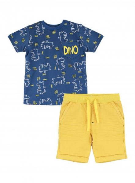 Set vara baiat tricou cu pantalon scurt , Babybol 1