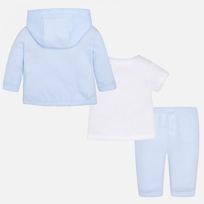 Trening bebe baiat, 3 piese, blue , Mayoral 1