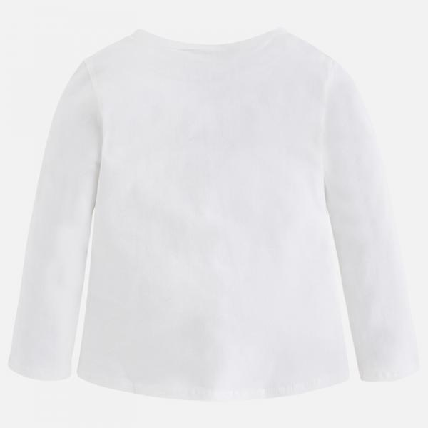 Tricou alb cu imprimeu bufntia Mayoral 1