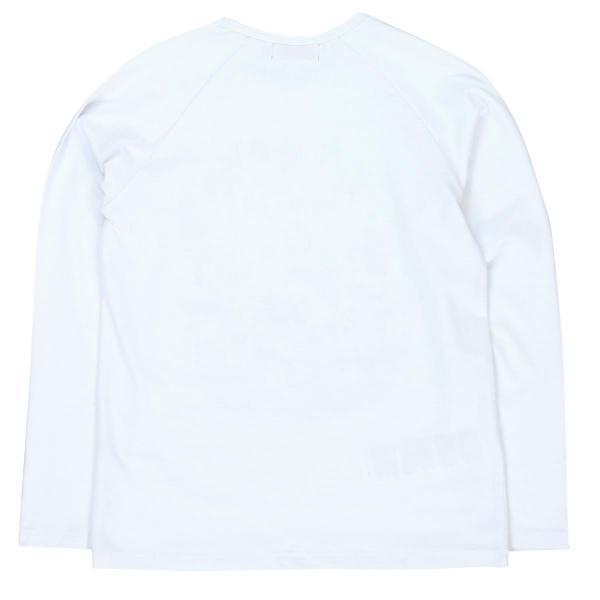 Tricou alb fetite cu maneca lunga Boboli 1