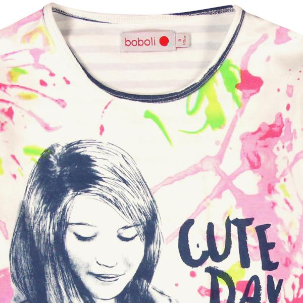 "Tricou fete ""Cute Day"" Boboli 2"