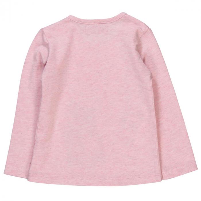 Tricou fete , maneca lunga, roz, Boboli [1]