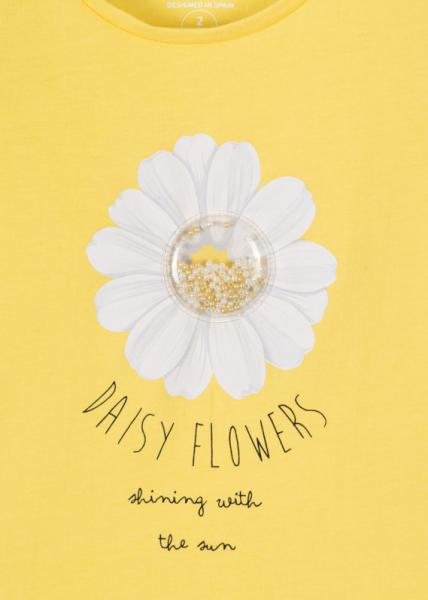 Tricou fete maneca scurta,floare soarelui, Losan [2]