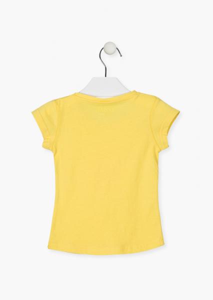 Tricou fete maneca scurta,floare soarelui, Losan [1]