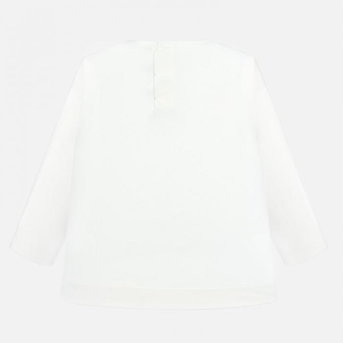 Tricou fetite 3-24 luni, alb , Mayoral [1]