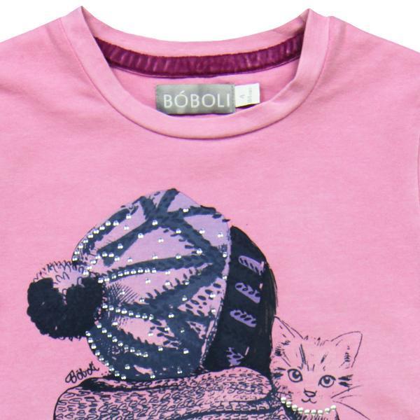 Tricou lila fete Boboli 2
