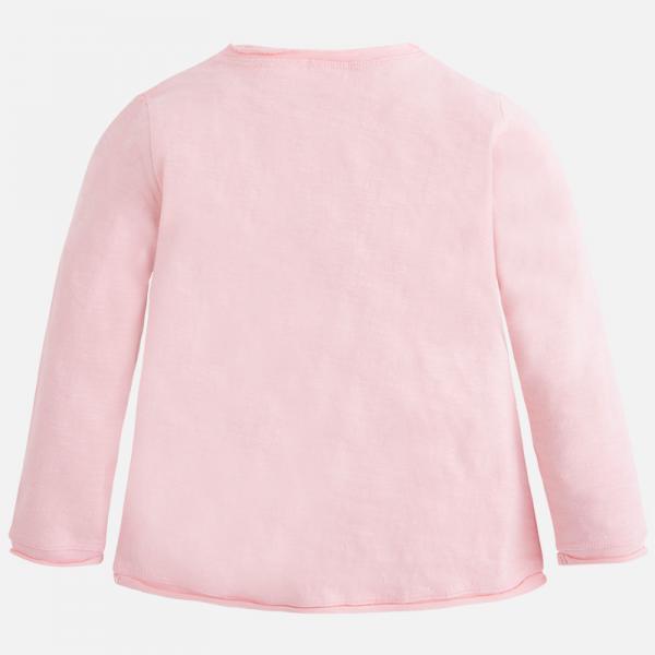 Tricou maneca lunga fetite roz Mayoral 1