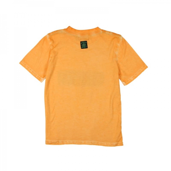 Tricou maneca scurta baiat orange Boboli 1