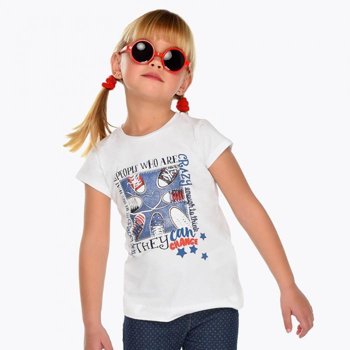 Tricou maneca scurta pentru fetite 2-9 ani , Mayoral 0