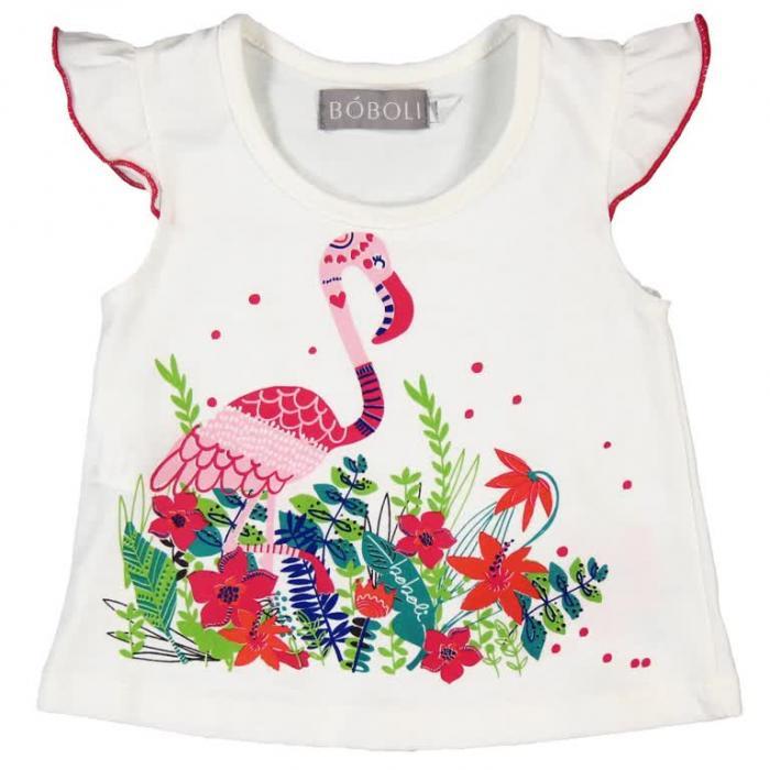 Tricou vara flamingo Boboli 0