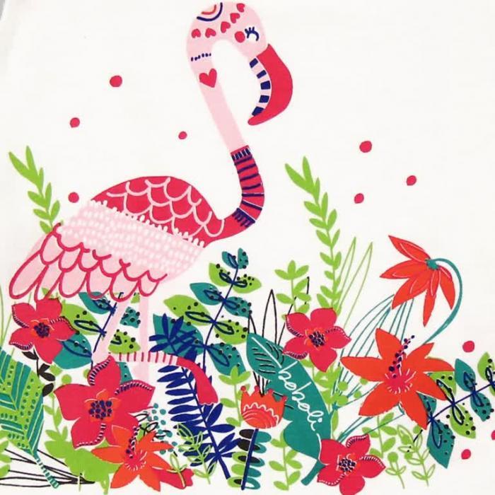 Tricou vara flamingo Boboli 2