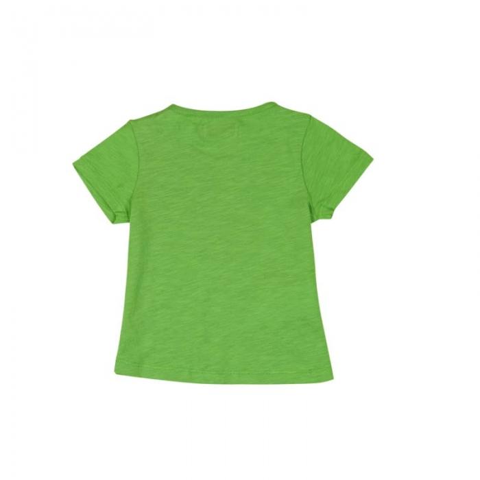 Tricou verde fetite cu imprimeu, Boboli 1