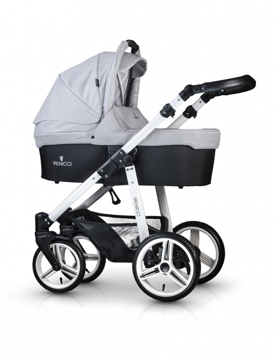 Venicci Light Grey Carucior 2 in 1 0