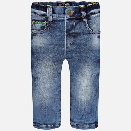 Pantalon denim captusit baieti ,albastru0