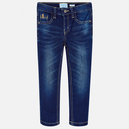Mayoral blugi baieti, slim fit, denim0