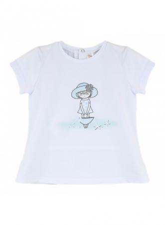 Babybol Set 3 piese fete tricou & pantalon scurt& bandana, navy3