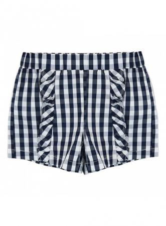 Babybol Set 3 piese fete tricou & pantalon scurt& bandana, navy4