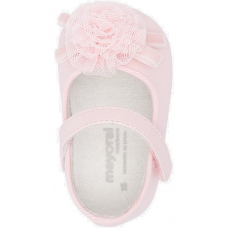 Balerini roz fetita nou nascut, roz, Mayoral2