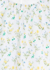 Bluza fete imprimeu flori galbene, Losan2