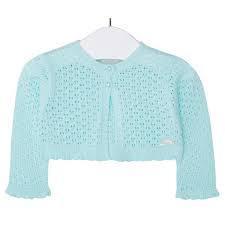Bolero tricot aqua Mayoral0