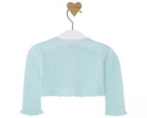 Bolero tricot aqua Mayoral1