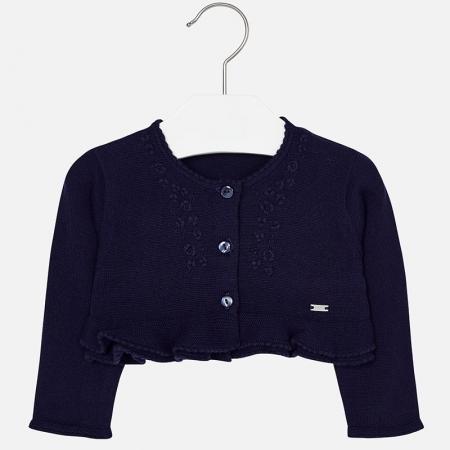Bolero tricot fete Mayoral, navy0