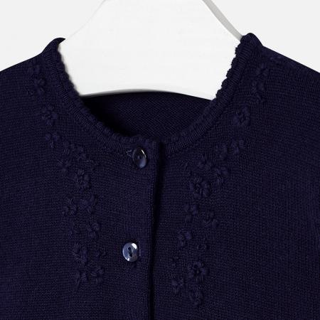 Bolero tricot fete Mayoral, navy2