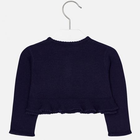 Bolero tricot fete Mayoral, navy1