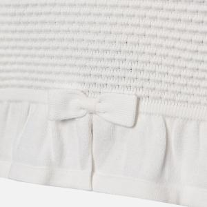Bolero tricotat fete Mayoral ivoire2