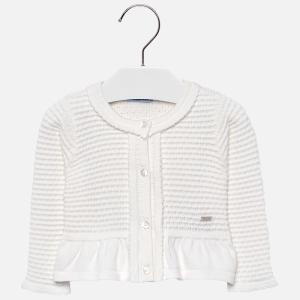 Bolero tricotat fete Mayoral ivoire0