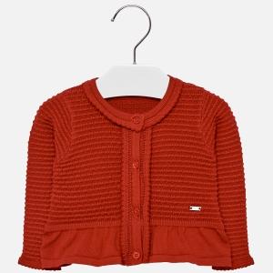 Bolero tricotat fete Mayoral rosu0