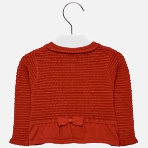Bolero tricotat fete Mayoral rosu1