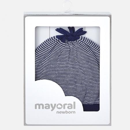 Caciula tricot bebe Mayoral, navy2