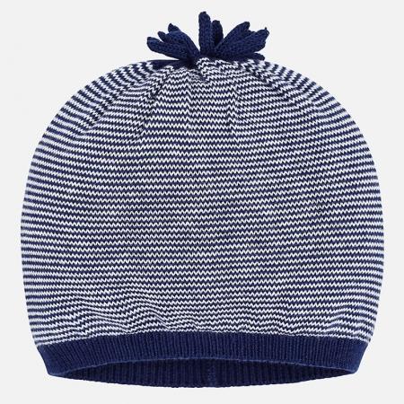 Caciula tricot bebe Mayoral, navy0