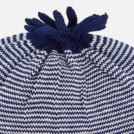 Caciula tricot bebe Mayoral, navy1