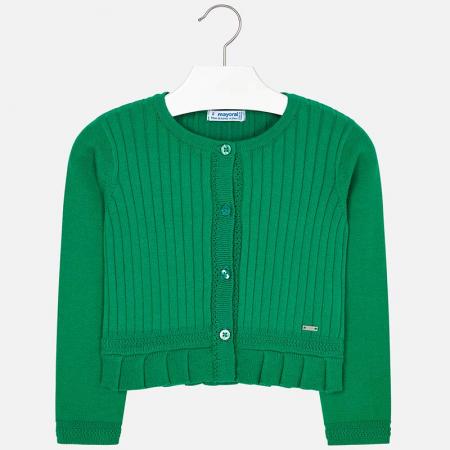 Cardigan fete tricot verde, Mayoral [1]
