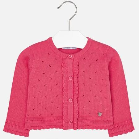 Cardigan tricotat fete , roz, Mayoral0