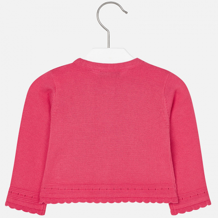 Cardigan tricotat fete , roz, Mayoral1