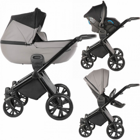 Carucior Venicci 3 in 1 Insevio Grey0