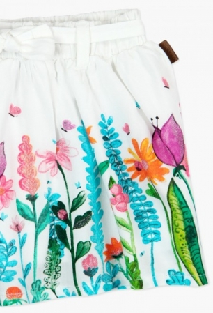 Fusta fete imprimeu floral, Boboli3