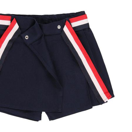 Fusta pantalon scurta, fete 8-16 ani , Boboli, navy2