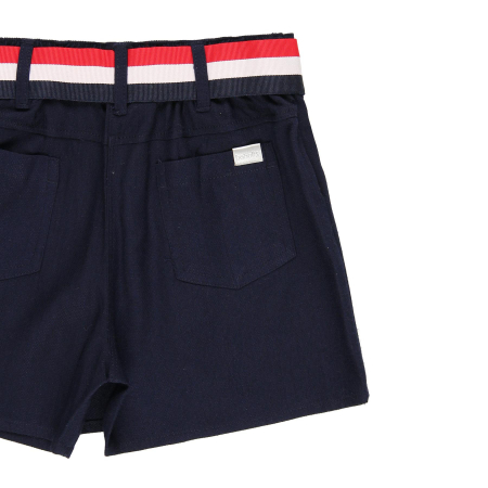 Fusta pantalon scurta, fete 8-16 ani , Boboli, navy3