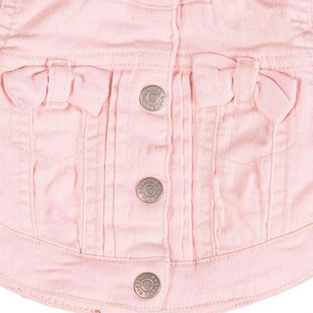 Geaca fete jeans strech roz , Babybol [1]