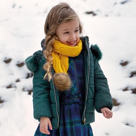 Geaca iarna fetite Mayoral, verde0
