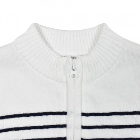 Jacheta tricot baiat cu fermoar Babybol [2]
