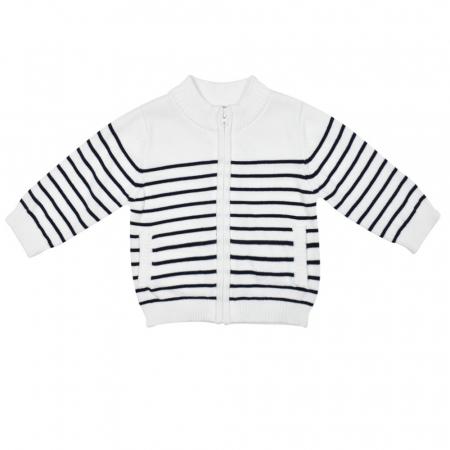 Jacheta tricot baiat cu fermoar Babybol [0]