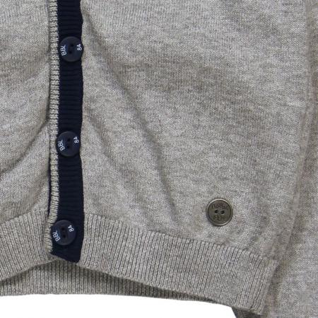 Jacheta tricot baieti , gri ,Boboli3