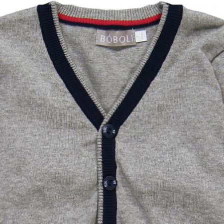 Jacheta tricot baieti , gri ,Boboli2