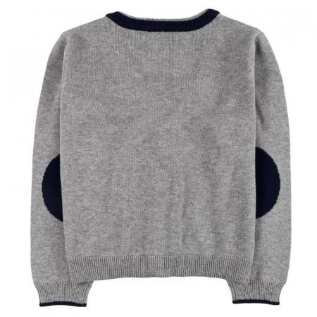 Jacheta tricot baieti , gri ,Boboli1